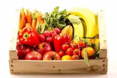 Büro Obst & Gemüse BIO Mix - groß: Vitamin Power