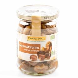 Danival Natürliche ganze Maronen im Glas gegart 320g