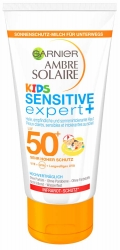 L´Oréal Garnier Ambre Solaire Kids Sensitive Expert+ Wet Skin Lotion LSF 50 150ml