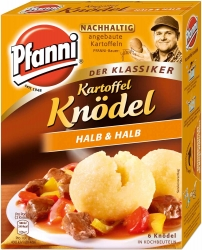 Pfanni Knödel Klassik Kochbeutel 6er