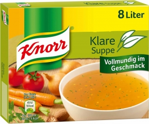 Knorr Klare Suppe mit Suppengrün 8l