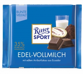 Ritter Sport Edel Vollmilch 100g
