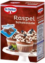 Dr. Oetker Raspelschokolade Vollmilch 100g