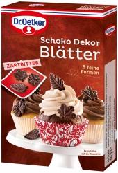 Dr. Oetker Schoko Dekor Blätter Zartbitter 60g