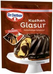 Dr. Oetker Kuchenglasur Dunkel 125g