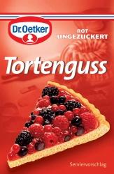 Dr. Oetker Tortenguss rot 3er