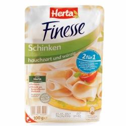 Herta Finesse Schinken Hauchzart & Würzig 100g
