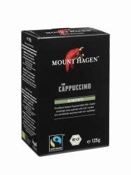 MOUNT HAGEN Bio Fair Trade Capuccino Faltschachtel 10X12,5g
