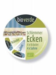 Bio-verde Schlemmer Ecken Sahne-Kräuter (blau) 8x25g