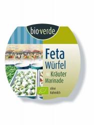 Bio-verde Feta-Würfel Kräuter 125g