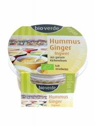 Bio-verde Hummus Ginger 150g mit Ingwer und Koriander vegan 150g