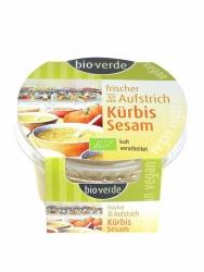 """Bio-verde Brotaufstrich """"Kürbis-Sesam""""  frisch & vegan 150g"""