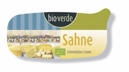 Bio-verde Sahne Schmelzkäse Zubereitung extra streichzart 175g