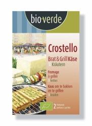 Bio-verde Crostello mit mediterranen Kräutern 2x100g Brat und Grillkäse