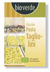 Bio-verde Frische Tagliolini extra dünne Bandnudeln 250g