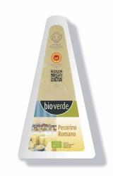 Bio-verde Pecorino Romano D.O.P. aus 100% Schafmilch egalisiert 125g