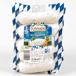 Ponnath Münchner Weißwürste 300g