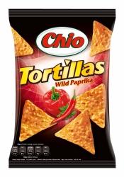 Chio Chips Tortilla Wild Paprika 125g