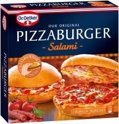 Dr. Oetker Pizzaburger Salami 365g