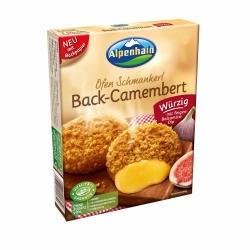 Alpenhain Back-Camembert würzig mit Feigen-Balsamico-Dip 200g