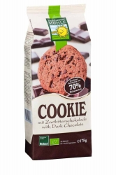 Bohlsener Mühle Cookie mit Zartbitterschokolade 175g