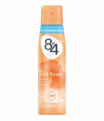 8x4 women Deo Spray Wild Flower 150ml