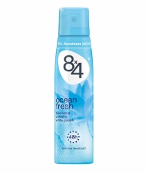 8x4 women Deo Spray Ocean Fresh 150ml