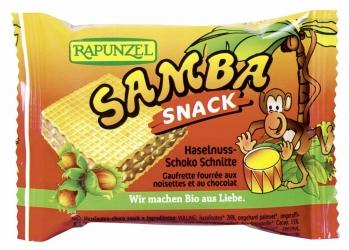 Rapunzel Samba Snack, Haselnuss-Schoko Schnitte 25g