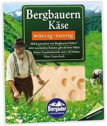 Bergader Bergbauernkäse Würzig-Nussig 160g