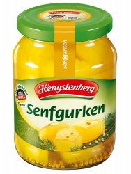 Hengstenberg Senfgurken 370ml