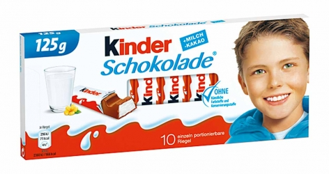 Ferrero Kinder Schokolade 10er 125g