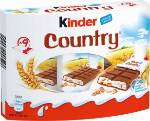 Ferrero Kinder Country 9er 211,5g