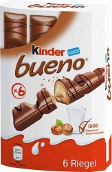 Ferrero Kinder Bueno 6 Riegel
