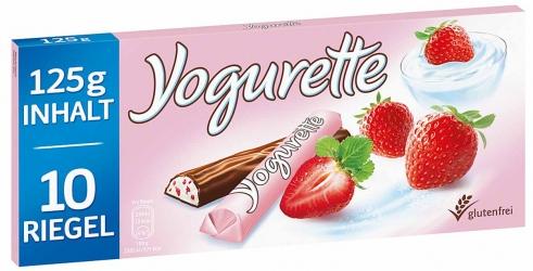 Ferrero Yogurette Erdbeere 125g