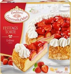 Coppenrath & Wiese Festtagstorte Erdbeer 1,4kg