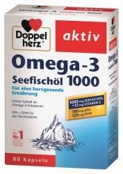 Doppelherz Omega-3 Seefischöl 1000