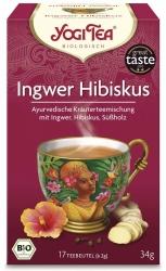 Yogi Tea Ingwer Hibiskus Bio 17Stück