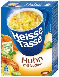 Erasco Heisse Tasse Hühnersuppe 3 Stück