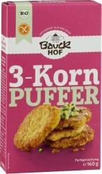 Bauckhof 3 Korn Puffer glutenfrei Bio 160g