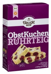 Bauckhof Obstkuchenteig glutenfrei Bio 400g