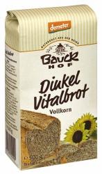 Bauckhof Dinkel Vitalbrot Vollkorn Demeter 500g