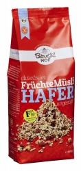 Bauckhof Hafer Müsli Früchte glutenfrei Bio 450g
