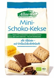 Allos Mini Schoko Kekse 125g