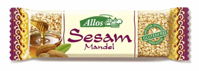 Allos Sesam Mandel Riegel 30g