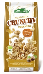 Allos Amaranth Crunchy Edelnuss 400g