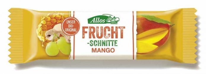 Allos Fruchtschnitte Mango 30g