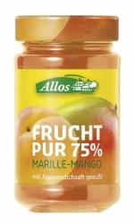 Allos Frucht Pur 75% Marille-Mango 250g
