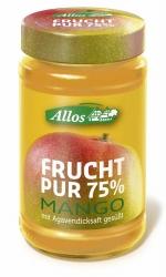 Allos Frucht Pur 75% Mango 250g