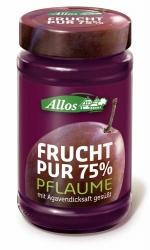 Allos Frucht Pur 75% Pflaume 250g