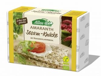 Allos Amaranth Sesam Knäcke 250g